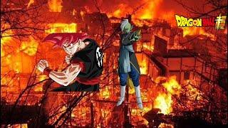 Dragon ball z - super sayain god black goku-wrath of a god (unofficial theme)