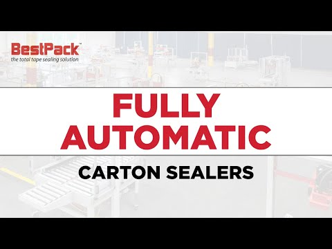 Fully Automatic Carton Sealers