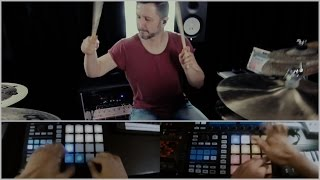 Launchpad - Tha Trickaz - Pushing More Buttons (Live Drumming)