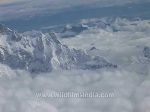 Kanchenjunga from 35, 000 feet
