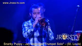 "James Ross @ (Trumpet Solo) Jay Jennings - ""Snarky Puppy Band"" - www.Jross-tv.com"