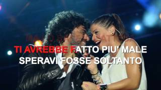 Francesco Renga feat Alessandra Amoroso - L'amore Altrove - Karaoke con testo