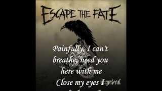 Escape The Fate - Picture Perfect (Lyrics)