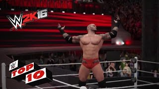 WWE 2K16 Top 10: Finishers from outta nowhere