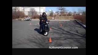 NJ DMV Motorcycle Road Test
