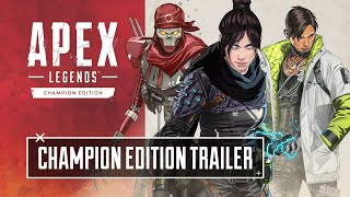 Apex Legends Champion Edition Unlocks All Characters; Trailer Teases New Legend