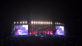 One direction singing beautiful girls/stand by me