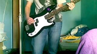 Lenny Kravitz-Stillness of heart bass cover