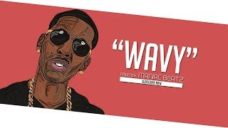 """WAVY"" Lit Trap Beat Instrumental 2017 x Trap Type Beat [Prod By: Maniac Beatz]"