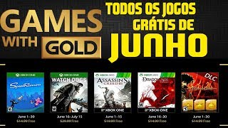 🔥 GAMES WITH GOLD JUNHO 2017- WATCH DOGS GRÁTIS 🎮