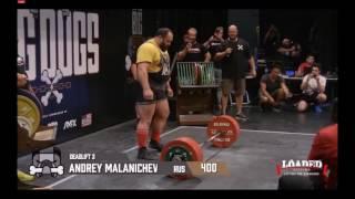 Andrey Malanichev 1140KG/2513LB WR Total *3rd Attempts, HD*