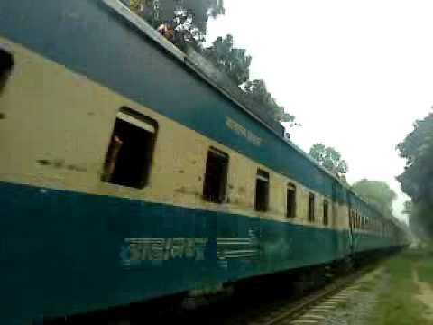 Bangladesh Railway Dhaka-Jamalpur 'Jamuna'  Express video .MP4