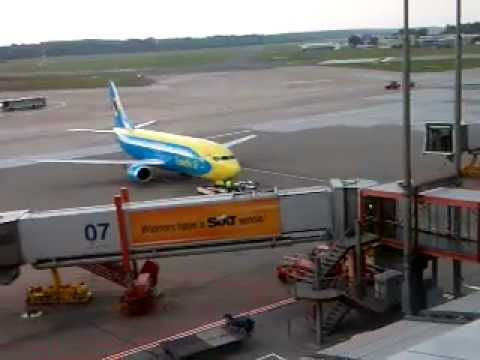 Ukraine Air Bus in Hamburg