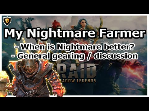 RAID Shadow Legends | My Nightmare Farmer | General Nightmare Discussion
