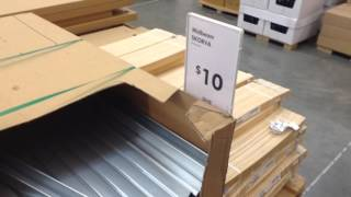 Ikea bed frame mattress support beam explained