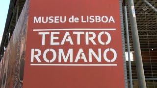 Reabertura do Teatro da antiga cidade de Olisipo