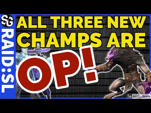 RAID SHADOW LEGENDS | NEW CHAMP REVIEW
