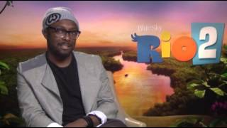 will.i.am's Imagination Runs Wild in 'Rio 2'