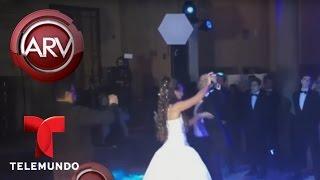 Chayanne baila Tiempo de Vals en fiesta de 15 de su hija | Al Rojo Vivo | Telemundo