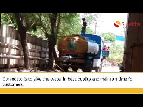 Tank Water Suppliers in Chennai, Water Supply Companies