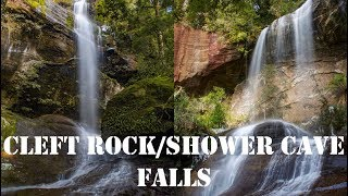 Cleft Rock and Shower Cave Falls - Tasmania Hiking width=