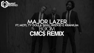 Major Lazer & MOTi - Boom (Feat. Ty Dolla $ign, Wizkid, & Kranium) [CMC$ Remix]