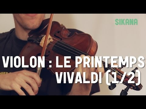 Comment jouer le Printemps de Vivaldi au violon