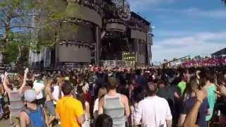DJ Snake @ Ultra 2015   MERCER & 4B - Bounce