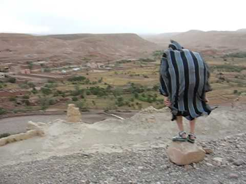 ready for take off in Ait Benhaddou, Morocco