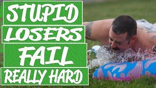 Hard and extreme fails make you laugh out loud || Bike fails, parkour fails, winter fail compilation