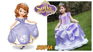 Disney Sofia The First Characters in Real Life SMS TV
