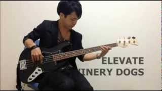 The Winery Dogs 「ELEVATE」BassCover(Solo) by TAKAFUMI