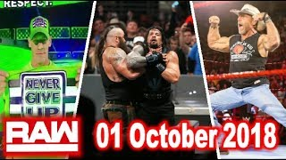 WWE Raw 1 October 2018 Highlights - 3 Shocking Things Of WWE Raw 01/10/2018