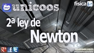 Imagen en miniatura para FISICA Segunda Ley de Newton DINAMICA fuerzas unicoos