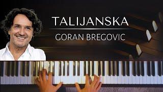 Goran Bregovic: Talijanska + piano sheets