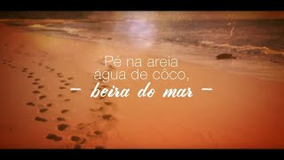 Diogo Nogueira - Pé na Areia (Lyric Video)