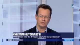 Interview de Christian Guyonvarc'h JT de France 3 - 06/05/2014