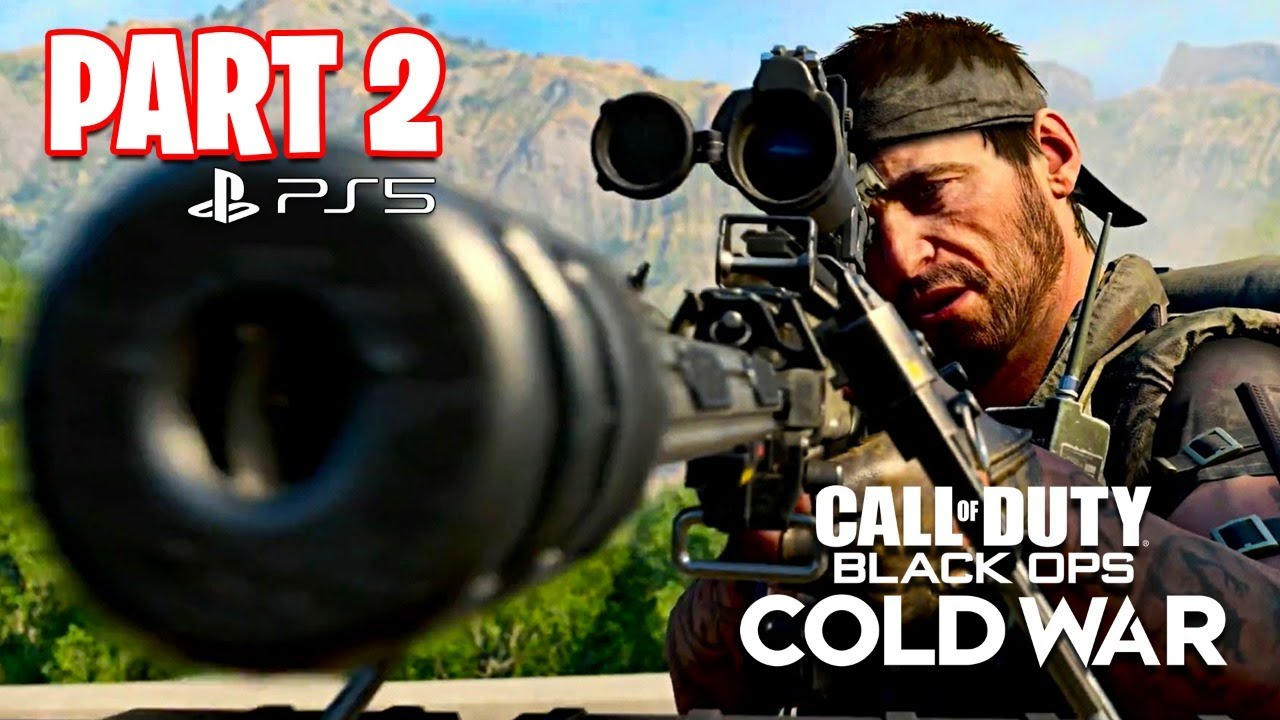 Typical Gamer - Call of Duty: Black Ops Cold War PS5 Campaign Gameplay Walkthrough, Part 2! (All Ending)