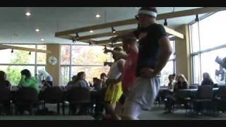 Kent State University Eric Prydz Call on Me Flashmob