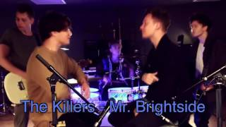 Brad Simpson from The Vamps sings Mr. Brightside w/ Conor Maynard
