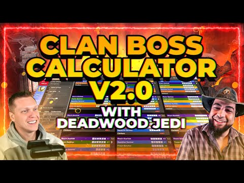 BEST Clan Boss Optimizer! v2.0 ft. DeadwoodJedi! RAID Shadow Legends