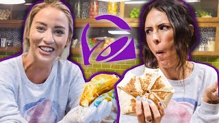 We Made CUSTOM Taco Bell Items in their TEST KITCHEN