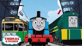 Thomas Goes to the AFL Grand Final! | Thomas' Aussie Footbal Adventure | Thomas & Friends
