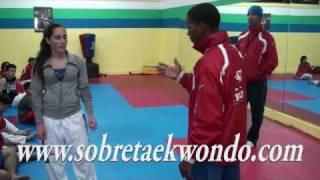 Teoría de la táctica en Taekwondo Gabriel Mercedes.