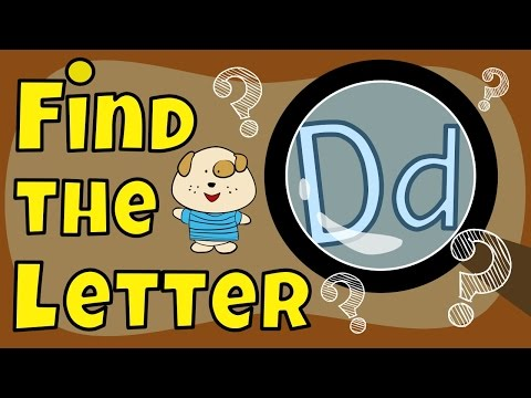 Find the Letter D