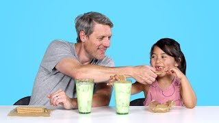 Kids Try Their Parents' Favorite Childhood Foods   Kids Try   HiHo Kids width=