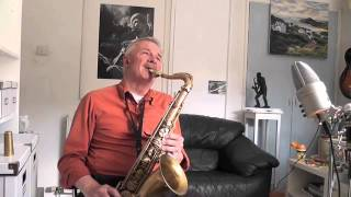 I Fall in Love Too Easily - Jazz on Tenor Sax