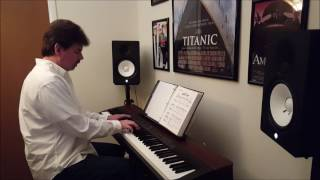 "Frank Valvo - Piano Cover of ""Sweet Baby"" by George Duke"