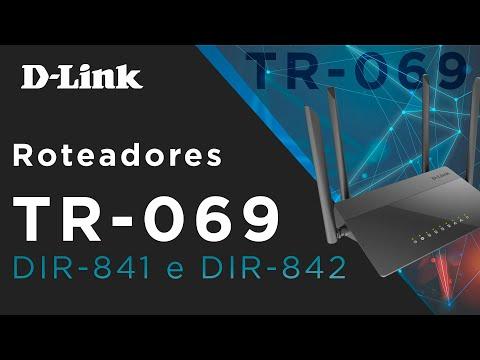 TR-069 e Plataforma ECS da D-Link! DIR-841 e DIR-842