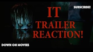 IT- Official Trailer Reaction